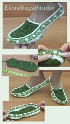 Knit Slippers Free Pattern, Crochet Slipper Pattern, Crochet Flower Patterns, Crochet Slippers, Crochet Designs, Crochet Baby Sandals, Crochet Boots, Crochet Clothes, Baby Hats Knitting