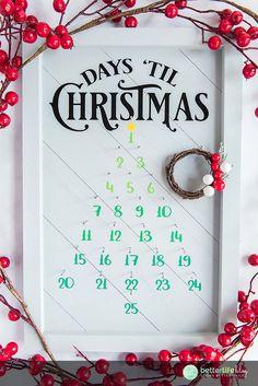 Christmas Picks, Christmas Diy, Countdown Until Christmas, Tis The Season, Family Gifts, Easy Peasy, Betta, Better Life, Grapevine Wreath
