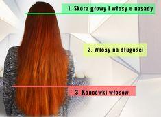 """Zapraszam na wpis o tym, jak dbać o włosy dla początkujących. Tym razem będzie to opis 3 stref pielęgnacji włosów, które wymagają zarówno innych metod, jak i składników kosmetyków. Dziękuję Mateuszowi zaimpuls do skompresowania tej porcji włosowej wiedzy. Aby upamiętnić to wydarzenie, teoria 3 stref pielęgnacji otrzymuje ode mnie roboczą nazwę """"Trójpodziału Kawi"""". a) Kodeks ... Henna, Hair Makeup, Make Up, Random, Hair Styles, Outfits, Beauty, Hair Plait Styles, Suits"""