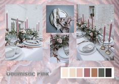 Optimistic Pink: According to the fashion industry this will be one of the colors for weddings in 2021. Enjoy! Want to know more about wedding planning... Visit our website - www.ectaint.com Wedding Trends, Industrial Style, Wedding Colors, Wedding Planning, Table Settings, Weddings, Website, Pink, Fashion