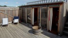 Summerhouse of the architect Lene Tranberg, Denmark
