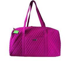 Amazon.com  Vera Bradley Womens Large Duffel African Violet Duffel Bag   Vera Bradley  Shoes bf19b618d