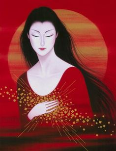 @PinFantasy - Ichiro Tsuruta, Japan. - ✯ http://www.pinterest.com/PinFantasy/arte-~-arte-oriental/