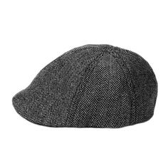 Keep your child cute with this Black and Gray Herringbone Baby Cap. This baby cap will keep your little one warm and styling all day long!