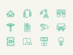 Engine Yard Icons by Vic Bell