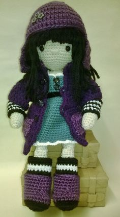 My Little Crochet Doll – Gorjuss pattern