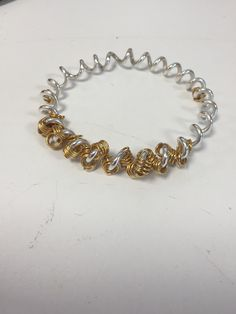 Claire's wiggly bangle