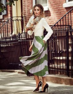 The Olivia Palermo Lookbook : Olivia Palermo for Vogue Russia October 2014