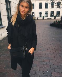 "6,884 Synes godt om, 56 kommentarer – Maja Darving. (@majadarving) på Instagram: ""❄️ @michaelatheibel"" Monochrome, Ruffle Blouse, Photo And Video, Instagram Posts, Tops, Women, Ideas, Fashion, Moda"