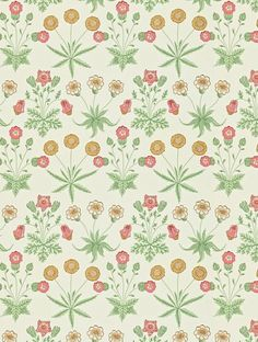 Morris and Co Daisy Wallpaper - 212562