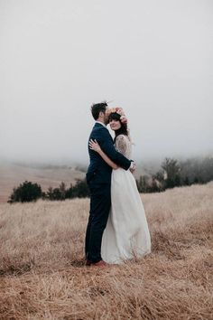Find photos of beautiful weddings that took place on cloudy days. Find ideas for cloudy day wedding photos on domino.