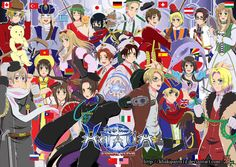 I love all the countries!!!