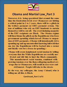 Obama's Plan for Martial Law_3 of 6