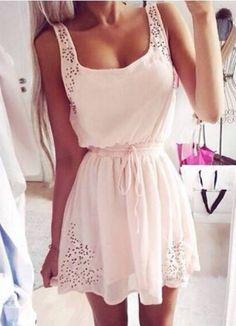 """""""pink angel"""" summer dress"""
