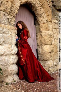 Robe de mariée médiévale Andralys