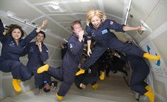-- Experience weightlessness or fly inside a turbine --