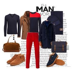 """Winter men's Look"" by viodelux on Polyvore featuring UGG, Perfect Moment, Frye, Joseph, Balmain, ASOS, men's fashion и menswear"