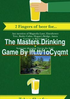 The Masters Drinking Game by ift.tt/1oCyqmt | The Complete Driver Golf Swing Guide | Why Can'T I Hit A Golf Ball Consistently | Best Driver For Slice 2018 | How To Play Golf With An Over The Top Swing. Wish to enhance your golf swing, but do not understand how? This is a great location to start if you know what you are doing wrong. #golfswag #Fore! Golf tips, quotes, & more