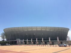 Green Point Stadium Boulder Beach, Cape Town, Bouldering, South Africa, Gate, Clouds, Travel, Viajes, Portal