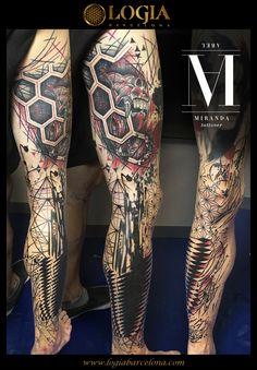 Φ Artist ABEL MIRANDA Φ  Info & Citas: (+34) 93 2506168 - Email: Info@logiabarcelona.com www.logiabarcelona.com #logiabarcelona #logiatattoo #tatuajes #tattoo #tattooink #tattoolife #tattoospain #tattooworld #tattoobarcelona #tattooistartmag #tattoosenbarcelona #tattooisartmagazine #tattoos_of_instagram #ink #arttattoo #artisttattoo #inked #instattoo #inktattoo #tatuagem #tattoocolor #pierna #tattooculturemagazine #tattooartwork #tattoodotwork #geometria #geometric