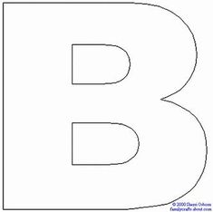 Image Result For Large Printable Capital Letters Cut Out