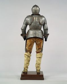 Armor for a Member of the Barberini Family | armor, Italian, Milan; spurs, French | The Met