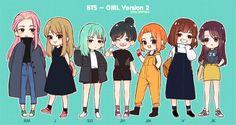 BTS - Girl Version 2