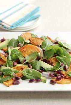 Pistachio and pumpkin salad