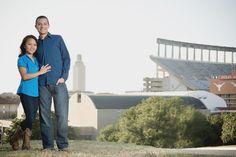 University of Texas engagement shoot #wedding