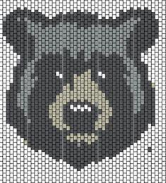 Seed Bead Patterns, Beading Patterns Free, Peyote Patterns, Cross Stitch Patterns, Cross Stitches, Native Beadwork, Native American Beadwork, Pixel Art, Brick Stitch Tutorial