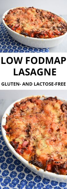 A classic low FODMAP lasagne with homemade bechamel sauce and lots of veggies. Also gluten-free and lactose-free.