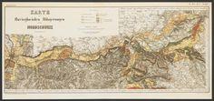 Geologische Karte der Schweiz / Spezialkarten / Geologische Kommission der Schweiz; K P 101017: 11 Old Maps, Vintage World Maps, Diagram, Switzerland, Old Cards