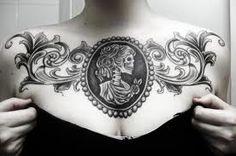 Awesome cameo tattoo:)