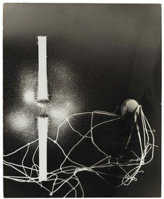 GYÖRGY KEPES (1906–2001) Magnetic Fields, 1939 gelatin silver print, flush-mounted on board signed, dated, and numbered '2' in ink, signed and dated in pencil, and credited, titled, and dated in ink, with six exhibition stickers affixed (mount, verso) image/sheet/flush mount: 19 x 15 1/2 in. (48.3 x 39.5 cm.)