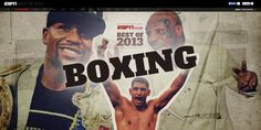 ESPN reviews the best of #boxing in 2013, using Shorthand.