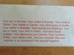 xenophobic posters | pinned by nidia reis