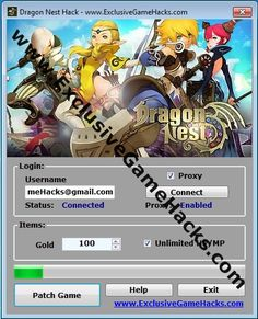 Best and Exclusive Dragon Nest hack that you can find for free!