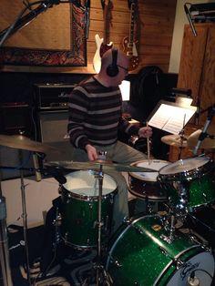 In the studio with Guitarist Josh Maxey!