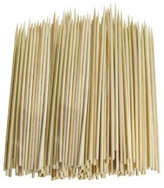 Pack of 300 Thin Bamboo Skewers (10 Inch) Chef Craft http://smile.amazon.com/dp/B00CUO9CVC/ref=cm_sw_r_pi_dp_-JCxwb1RC56CF