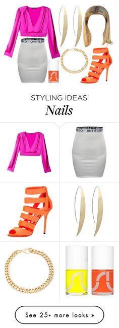 """""""Untitled #2282"""" by nicole-briffa on Polyvore featuring Bebe, CO, Jimmy Choo, Uslu Airlines and Alessandra Rich"""