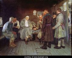 Return from the War Painting Ilya Repin, Russian Painting, Russian Art, Figure Painting, Art Database, Vintage Artwork, Art World, Les Oeuvres, Unique Art