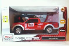 Maisto Tech RC full function. FORD F 150 STX. New in factory box 1:24  2013 100% guaranteed. Maisto Radio control full function Requires 4 AA batteries. New purchased for resale by Keywebco Video inspected during shipping Shipped fast and free from the USA The item for sale is pictured and described on this page. The stock photo may include additional items for display purpose only - which will not be included. Packages may show wear or be opened if the battery is replaced or during the…