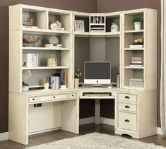 Nantucket Modular Corner Desk Wall – Home Office Design Corner Modular Home Office Furniture, Home Office Desks, Office Decor, Office Ideas, Office Designs, Parker House, Nantucket, Cool Furniture, Office Home