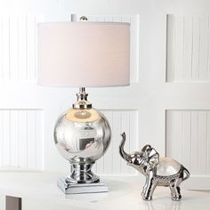 Shop our entire selection of lighting, including this Safavieh Alcott Mercury Glass Table Lamp, at Kohl's. Traditional Table Lamps, Traditional Furniture, Light Bulb Wattage, Lamp Shade Store, Mercury Glass, Drum Shade, Glass Table, Decor Styles, Entryway