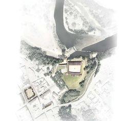Le projet des architectes s'intègre au château historique de la ville.