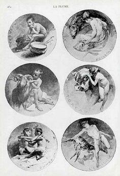 Alphonse Mucha - Zodiac signs