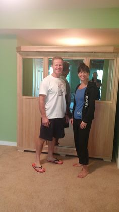 Good Health Saunas GS-Series 4-Person Infrared Sauna Delivered and Installed.