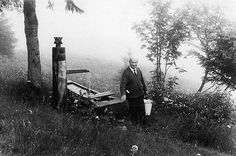 Heidegger at the well near his hut. Photo by Digne Meller-Marcovicz, published in Adam Sharr,Heidegger's Hut(Cambridge Mass.: MIT Press, 2006).