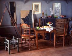 Artist and Studio, Cezanne's studio in Aix-en-Provence, France ...