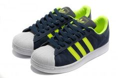 outlet store bdd1e 5668d Originals Adidas Jeremy Scott Superstar Green White Blue Shoes